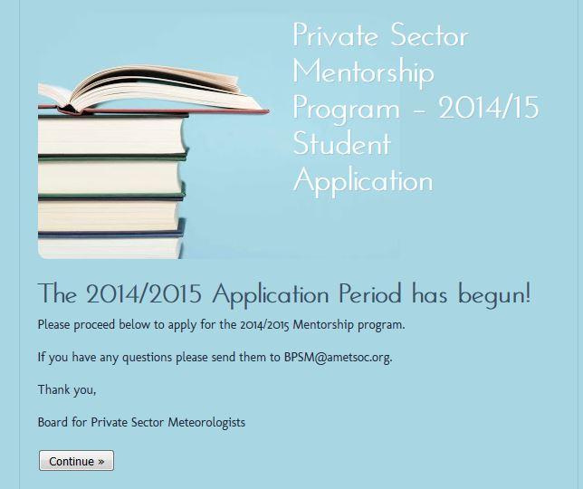 AMS Private Sector Mentor Program