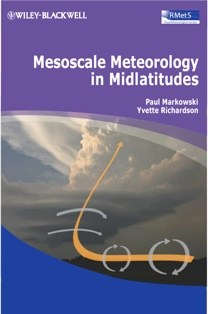 "cover of book titled ""Mesoscale Meteorology in Midlatitudes"""