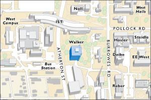 west campus map