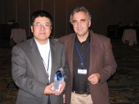 "Aijun Deng and David Stauffer win award for ""Outstanding Scientific Contribution"""