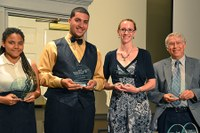 College of EMS Upward Bound Math and Science team takes top honors