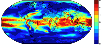 world heat map