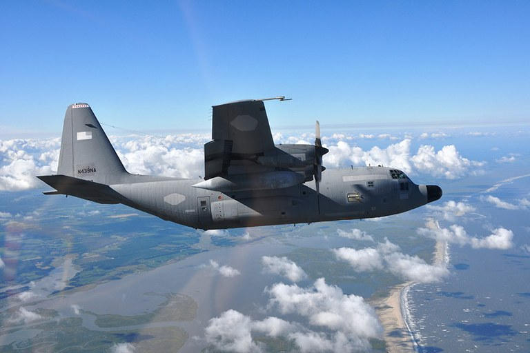 NASA's C-130 research aircraft