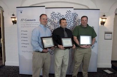 Photo of Chad Bahrmann, Chuck Pavloski, and Jeff Wolfe