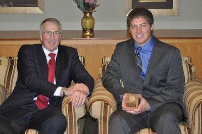 Andrew Rengel, Ellen Steidle Award Winner