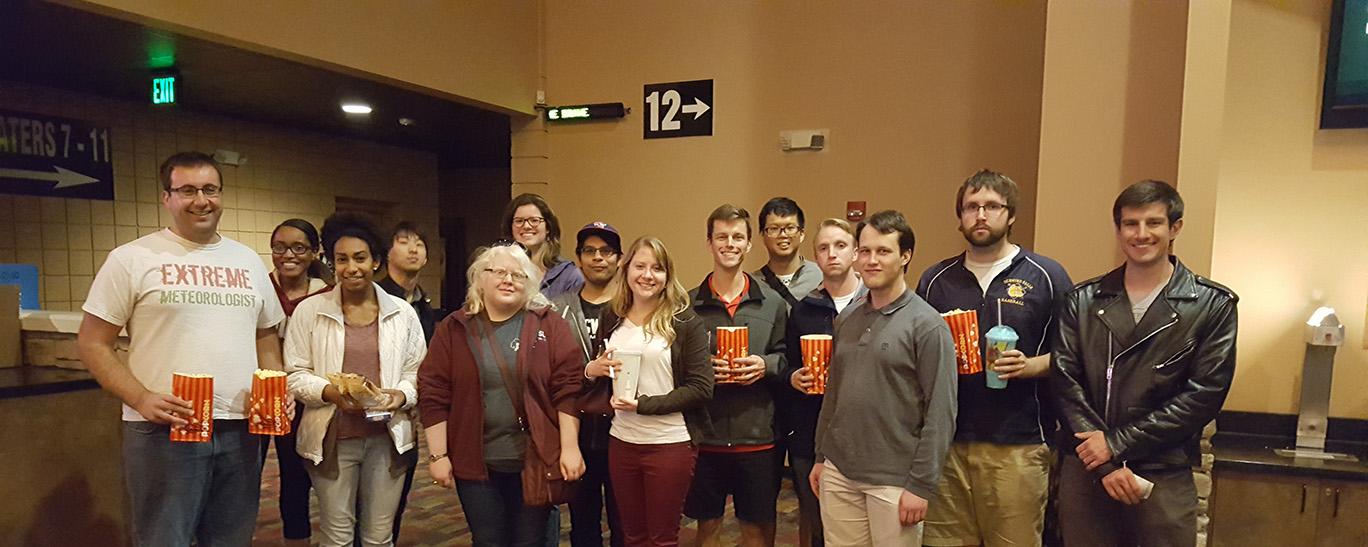 Geostorm movie attendees