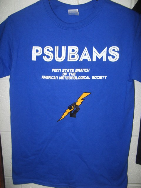 PSUBAMS front T shirt
